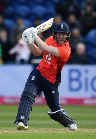 Eoin Morgan 57 not out England Pakistan Only T20 Cardiff cricket