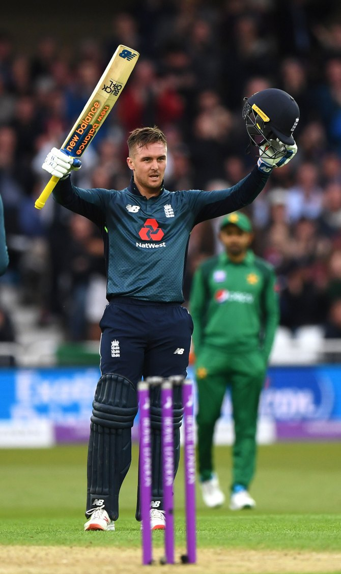 Jason Roy 114 England Pakistan 4th ODI Nottingham cricket