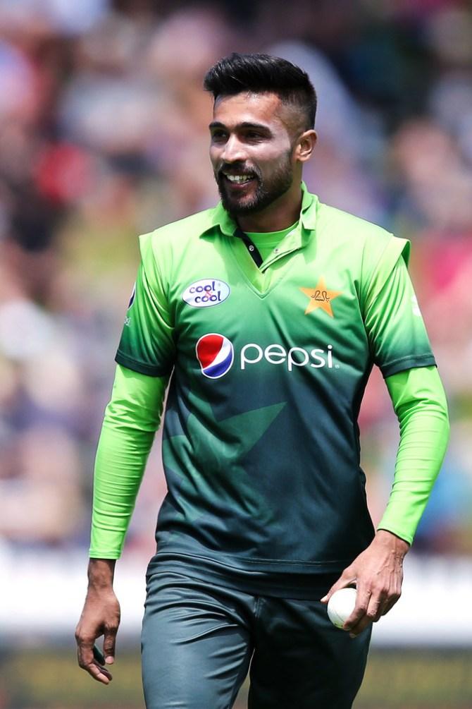 Pakistan pace bowler Mohammad Amir said he eats McDonald's once a week
