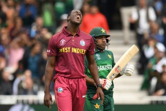 Sarfraz Ahmed blamed Imam-ul-Haq and Fakhar Zaman's dismissals for Pakistan being bowled out for 105 in their World Cup opener against the West Indies cricket