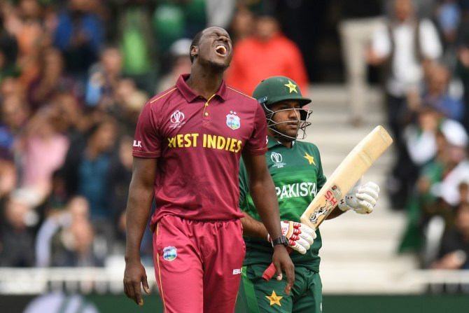 Sarfraz Ahmed believes Pakistan's loss to West Indies in the World Cup was due to a bad day and his side losing the toss cricket