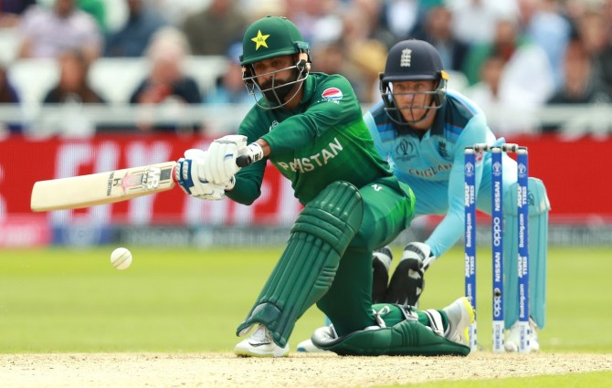 Mohammad Hafeez believes Pakistan beat England since everyone contributed and gave it their all World Cup cricket