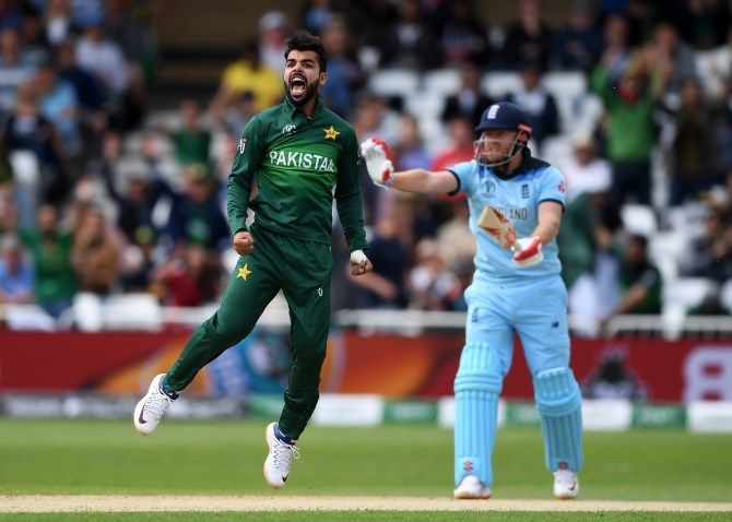 Shadab Khan Pakistan confident they can qualify for the semi-finals at the World Cup cricket