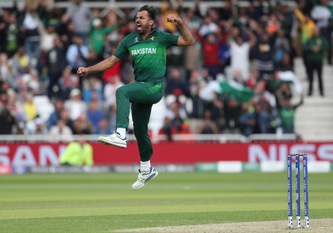 Wahab Riaz reveals Wasim Akram and Waqar Younis advised him not to fear anyone Pakistan World Cup cricket
