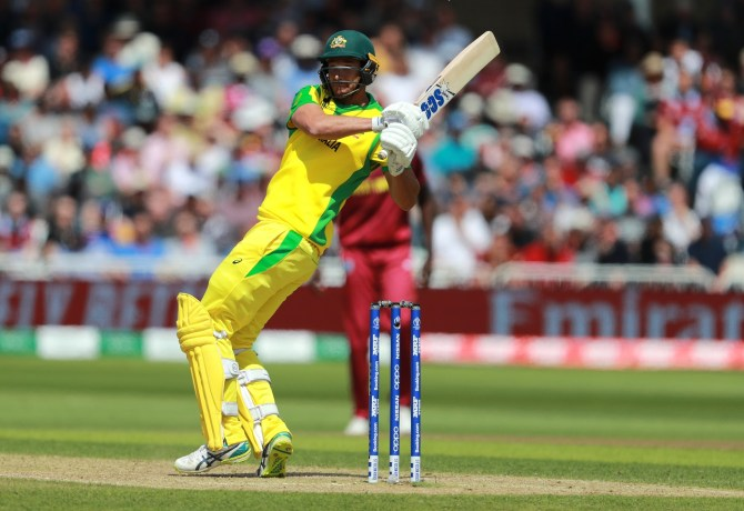 Nathan Coulter-Nile 92 Australia West Indies World Cup 10th Match Nottingham cricket