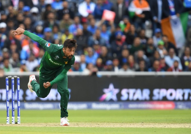 Mohammad Amir claims fans have been verbally abusing and swearing at him and the rest of the Pakistan team World Cup cricket