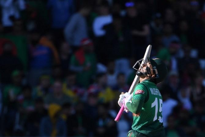 Mushfiqur Rahim 102 not out Australia Bangladesh World Cup 26th Match Nottingham cricket