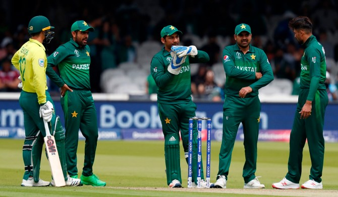 Sarfraz Ahmed admits Pakistan have to improve their fielding World Cup cricket