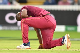 Andre Russell to miss rest of the World Cup due to left knee injury West Indies cricket