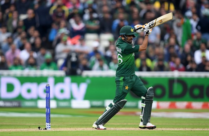 Babar Azam reveals his and Mohammad Hafeez's gameplan in Pakistan's World Cup match against New Zealand cricket