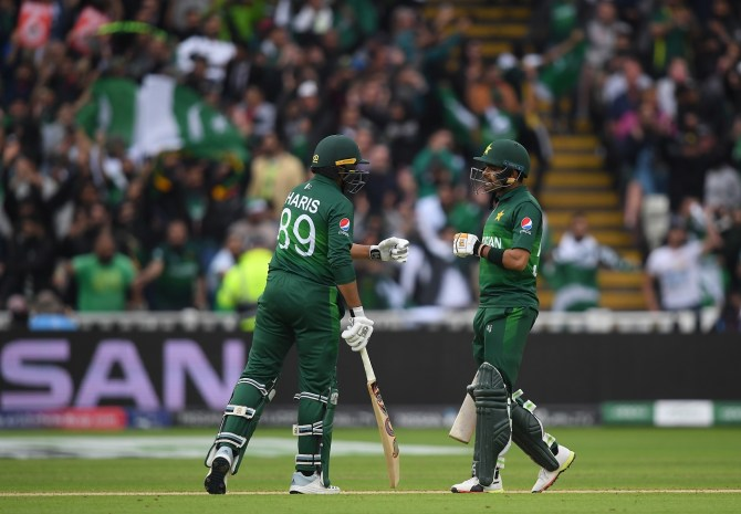 Kane Williamson admits he was highly impressed with the way in which Babar Azam and Haris Sohail batted against New Zealand Pakistan World Cup cricket