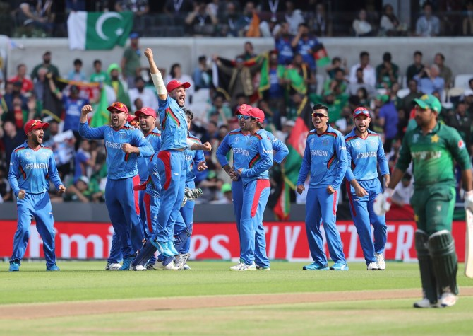 Imad Wasim thinks Afghanistan will be a force to be reckoned with in a couple years' time Pakistan World Cup cricket