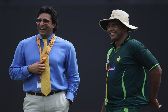 Waqar Younis sends heartwarming birthday message to Wasim Akram Pakistan cricket