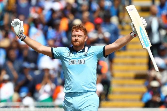 Jonny Bairstow 111 England India World Cup 38th Match Edgbaston cricket