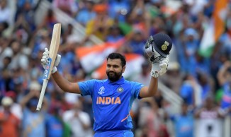Rohit Sharma 104 India Bangladesh World Cup 40th Match Edgbaston cricket