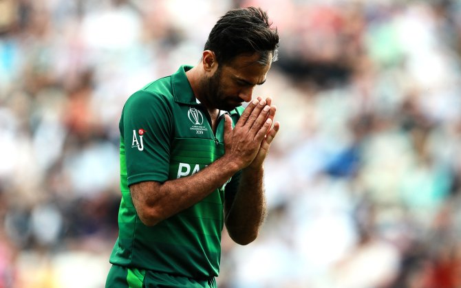 Pakistan pace bowler Wahab Riaz admits that he stopped focusing on cricket after his father died