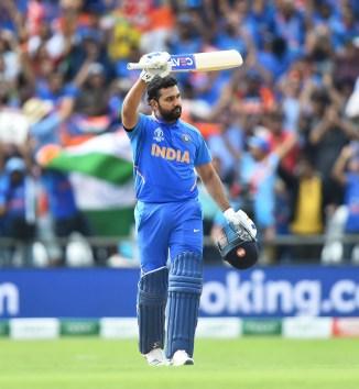 Rohit Sharma 103 India Sri Lanka World Cup 44th Match Headingley cricket