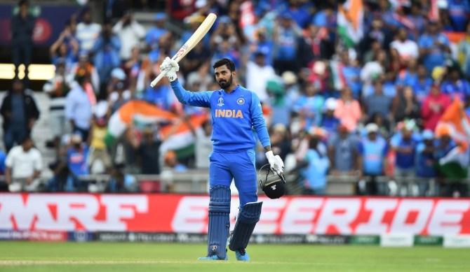 Lokesh Rahul 111 India Sri Lanka World Cup 44th Match Headingley cricket