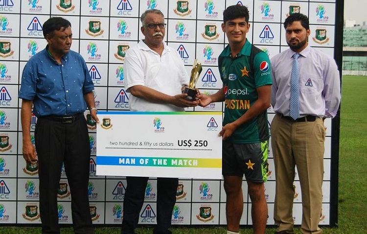 Naseem Shah reveals his ideal bowler and his goal for the future
