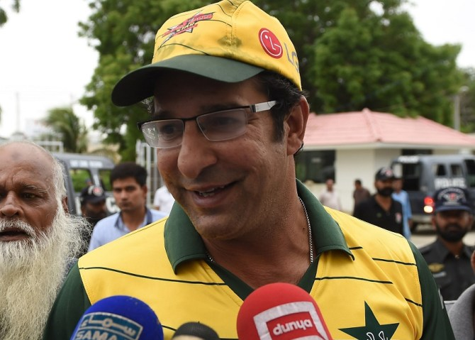 Wasim Akram admitted Viv Richards used to send shivers down a bowler's spine Pakistan West Indies cricket