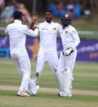 Lasith Embuldeniya four wickets Sri Lanka New Zealand 1st Test Day 3 Galle cricket