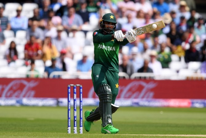 Fakhar Zaman doesn't see any problems with his technique when batting Pakistan cricket