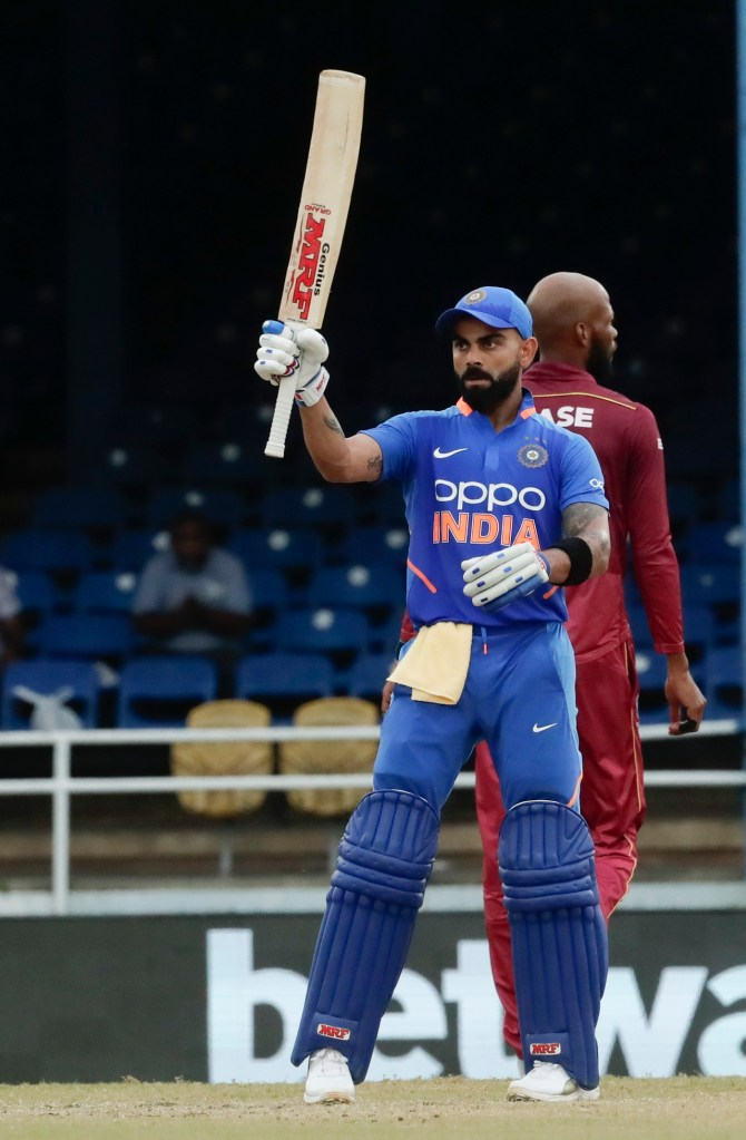 Virat Kohli 114 not out West Indies India 3rd ODI Trinidad cricket