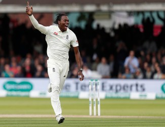 Jofra Archer three wickets England Australia 2nd Ashes Test Day 5 Lord's cricket