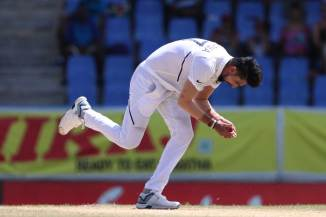 Ishant Sharma five wickets West Indies India 1st Test Day 2 Antigua cricket