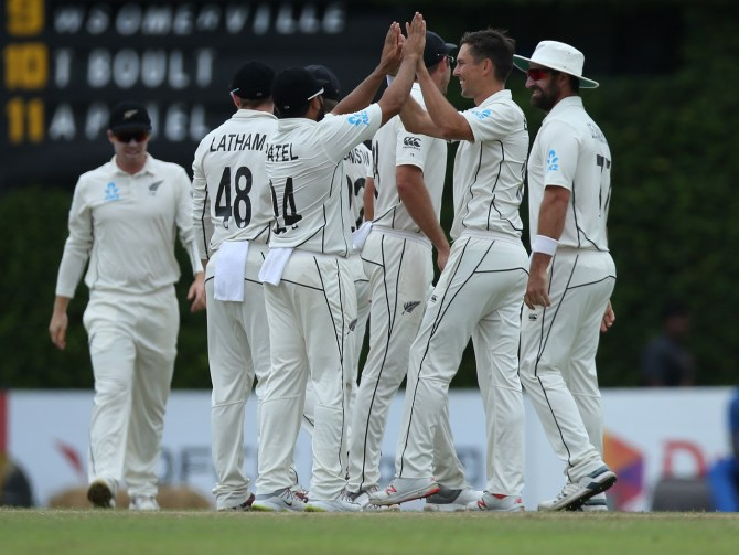 New Zealand bundled Sri Lanka out for 122 to secure an innings and 65-run win 2nd Test Day 5 Colombo cricket