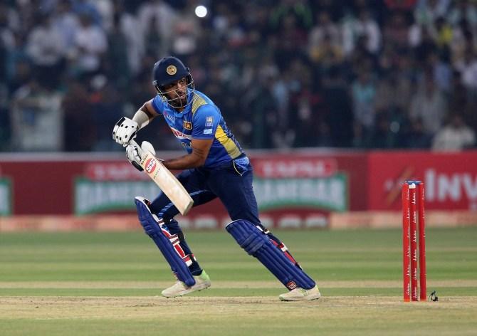 Danushka Gunathilaka 57 Pakistan Sri Lanka 1st T20 Lahore cricket