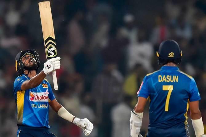 Oshada Fernando 78 not out Sri Lanka Pakistan 3rd T20 Lahore cricket