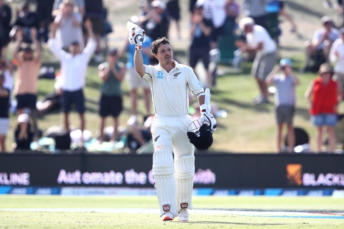 BJ Watling 119 not out New Zealand England 1st Test Day 3 Mount Maunganui cricket