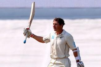 BJ Watling 205 New Zealand England 1st Test Day 4 Mount Maunganui cricket