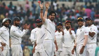 Ishant Sharma five wickets India Bangladesh 2nd Test Day 1 Kolkata cricket