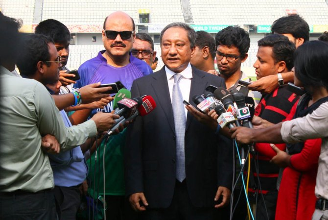 Nazmul Hassan made it clear that Bangladesh will tour Pakistan for a Test series cricket