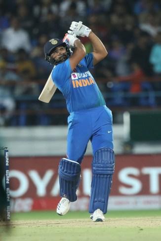 Rohit Sharma 85 India Bangladesh 2nd T20 Rajkot cricket