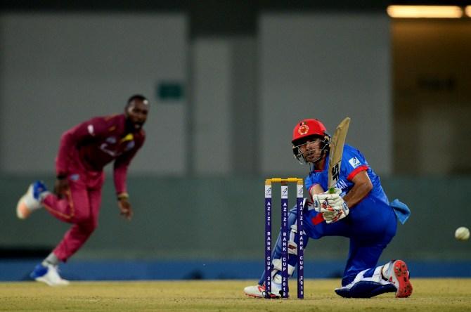 Rahmanullah Gurbaz 79 Afghanistan vs West Indies 3rd T20 Lucknow cricket