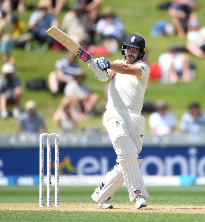 Rory Burns 101 New Zealand England 2nd Test Day 3 Hamilton cricket