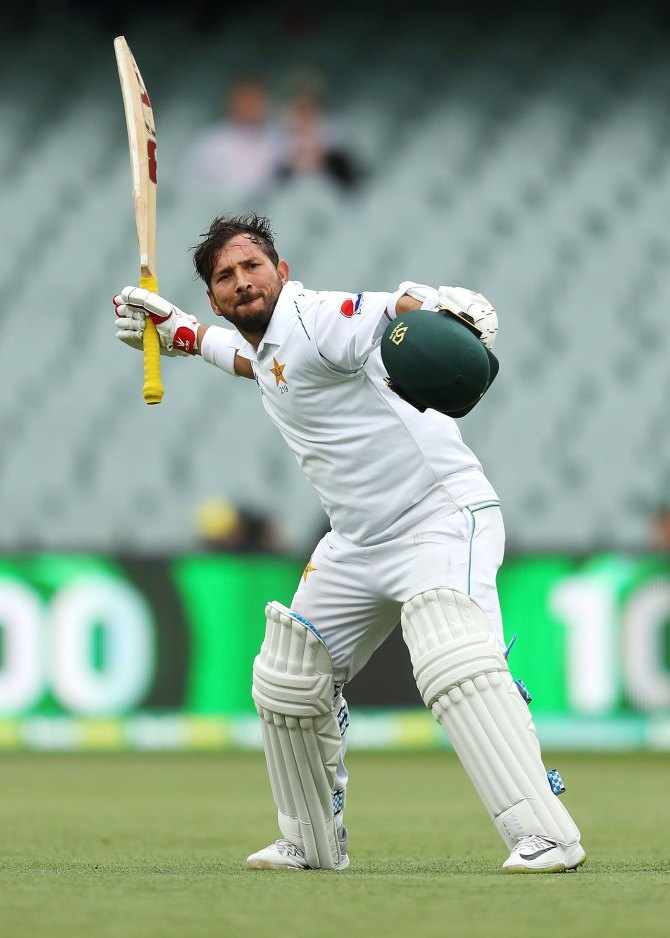 Azhar Ali glad Yasir Shah didn't fall while celebrating his maiden Test century Pakistan cricket