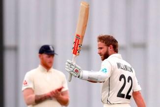 Kane Williamson 104 not out New Zealand England 2nd Test Day 5 Hamilton cricket