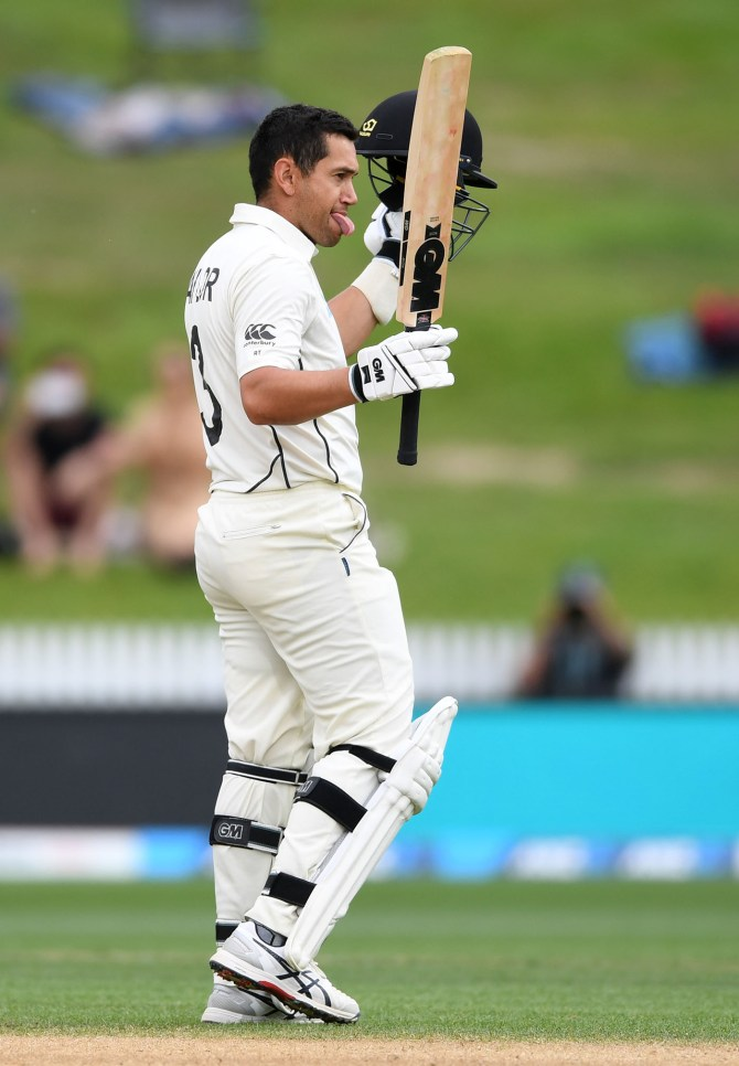 Ross Taylor 105 not out New Zealand England 2nd Test Day 5 Hamilton cricket