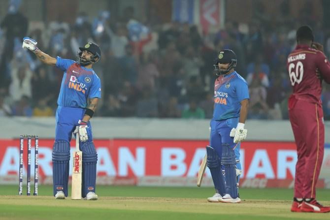 Shoaib Akhtar believes Virat Kohli gave a shut up call to Kesrick Williams Pakistan India West Indies cricket