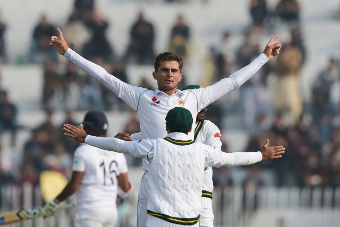 Shoaib Malik applauded Shaheen Shah Afridi for his performance on the first day of the first Test against Sri Lanka Rawalpindi cricket
