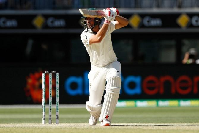 Joe Burns 53 Australia vs New Zealand 1st Test Day 3 Perth cricket