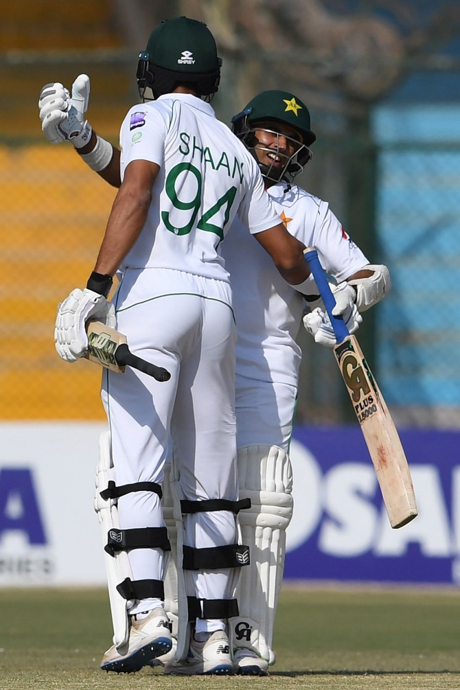 Shan Masood disappointed he and Abid Ali didn't break Pakistan's highest opening partnership in Test history cricket