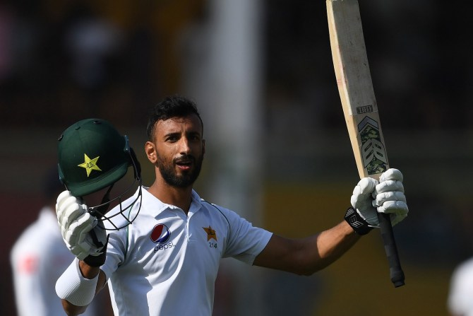 Shan Masood 135 Pakistan Sri Lanka 2nd Test Day 3 Karachi cricket