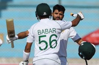 Kamran Akmal congratulates Azhar Ali and Babar Azam for their centuries Pakistan cricket