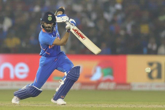 Virat Kohli 85 India vs West Indies 3rd ODI Cuttack cricket
