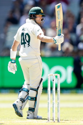Steve Smith 77 not out Australia New Zealand 2nd Test Day 1 Melbourne cricket